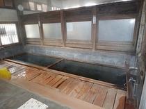 共同浴場「湯田中大湯」(男湯)