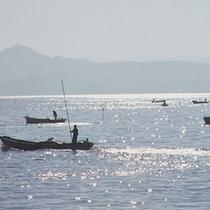 ●宍道湖しじみ舟