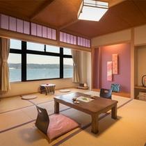 ■通常客室-紅梅-■