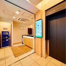 フロント+エレベーター