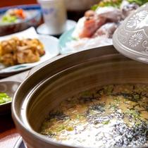 【豊後とらふぐ】〆は雑炊で※イメージ