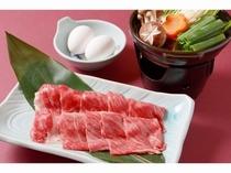 熊野牛選べるプラン(鋤焼き)