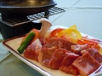 国産牛 陶板焼イメージ写真(別注料理)