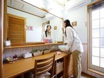 【プレミアムスイートルーム】パウダールーム