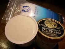 当館で人気のハワイアンスイーツ「ヒロホームメイドアイスクリーム」