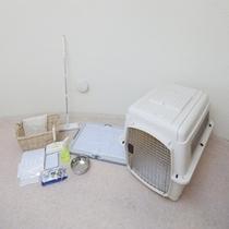 ドームコテージオルサ ペット同伴室の備品