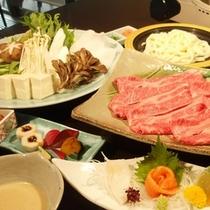 福島県産牛しゃぶしゃぶグルメコース