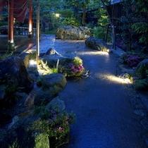 ☆夜の玄関