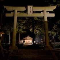 ☆栗矢神社(入り口) 500x500