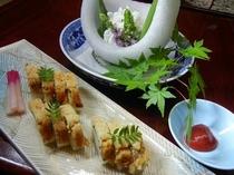 鱧寿司・鱧ちり