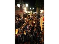 勇壮な伊香保祭り