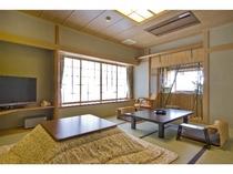 ◆エグゼクティブ【欅(けやき)・ 415号室】、【大樹(たいじゅ) ・315号室】、和室10畳(冬)