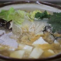 【食事*芯からあったまる*】牡蠣と豚肉のおなべ
