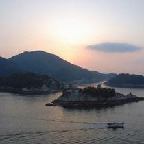 仙酔島全景