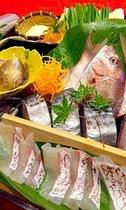 夕食 海鮮鍋コース例