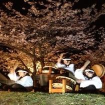 2013年「観桜会」太鼓