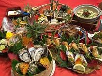2015 年「牡蠣会席」
