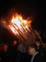 日本三大火祭り お手火まつり