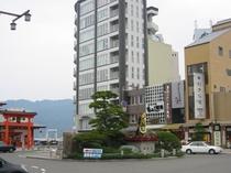JR宮島口桟橋付近