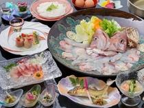 海鮮鍋プラン料理