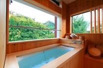 客室 (展望風呂) 亀