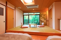 客室 (庭園和室)松