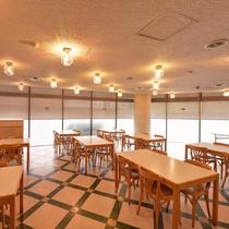 *【食事処・レストランゼリア】朝食時間7:30~9:00の営業です。