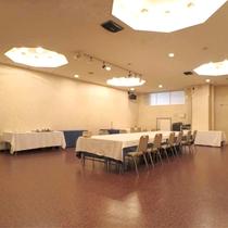 *【会議室・小宴会スペース】10~20名様程度の広さで使い勝手も良いスペースをご用意しております。