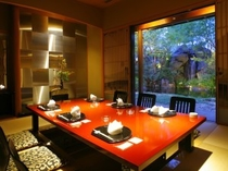 日本料理 花鳥 店内写真