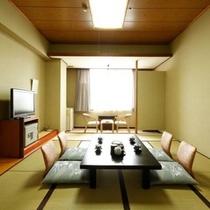 □和室十二畳の一例