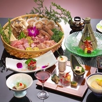 □喜和味 炙り焼き料理の一例