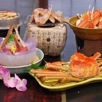 【上蟹づくし】 蟹1杯(3品)+蟹料理4品♪