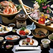 〓鯛姿造りと宝楽焼付まんぷく会席〓
