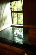 お部屋の専用内風呂