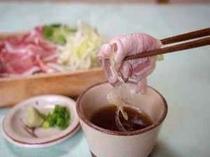 春の福袋スペシャル料理【つゆしゃぶ】