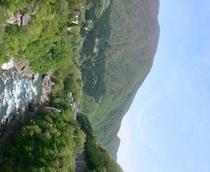 春の大川渓谷