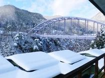 ロビーからの眺め 冬