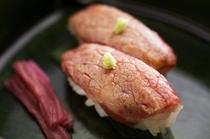 島根和牛のあぶり寿司