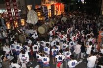 安来月の輪祭り 神輿