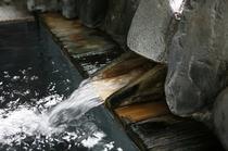 塩川鉱泉湯口ph8弱アルカリ泉カルシウム17mg