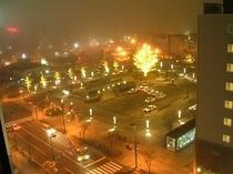 客室からの夜景(一例)