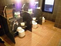 女性大浴場(新設)洗い場