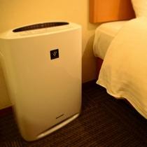 加湿器機能付き 空気清浄機完備