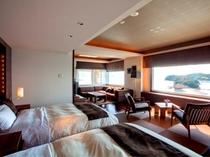 最高の設備と眺めをもつ、最上階スイートルーム 811号室