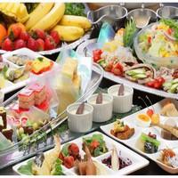 【GW限定】当館1番人気夕食プラン!島の幸満載・食材100種類バイキング