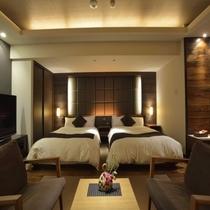 最上階スイート 811号室(ベッドスペース)