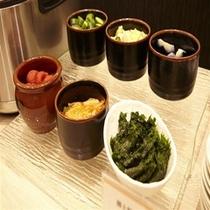 ◇漬物〜オススメは仙台味噌のシソ巻き〜