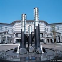◇様々なイベントが開催の仙台国際センター。学会等が多く開催になります。