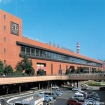 ◇東北の拠点、仙台駅。ホテルまでは徒歩10分程度です。杜の都を見ながら来館下さい。