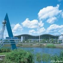 ◇仙台の空の拠点、仙台空港。仙台駅からJR線で約20分程度です。